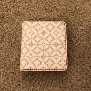 Patterned Fossil Mini Wallet